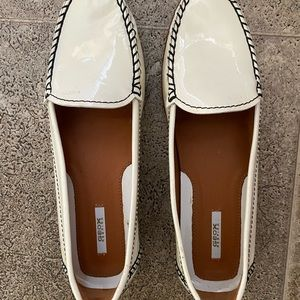 Geox White Leather Loafer…reduced!
